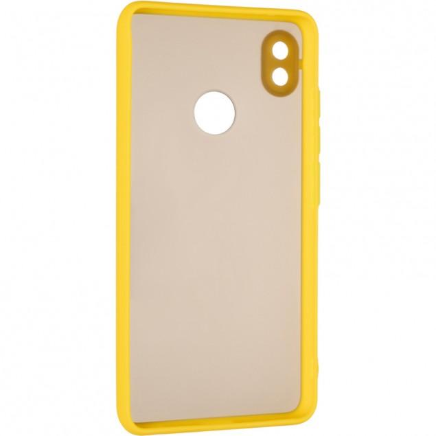Gelius Bumper Mat Case for Tecno Pop 3 Yellow