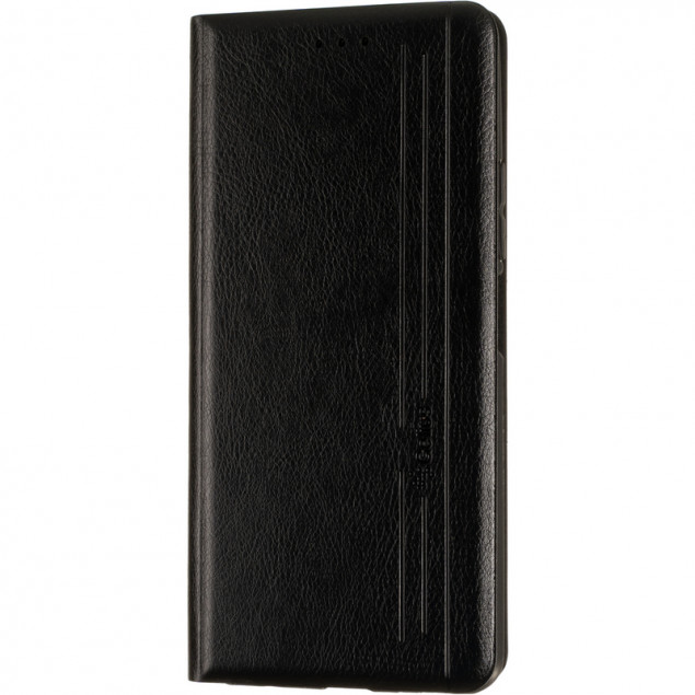 Book Cover Leather Gelius New for Xiaomi Redmi Note 8/Note 8 (2021) Black