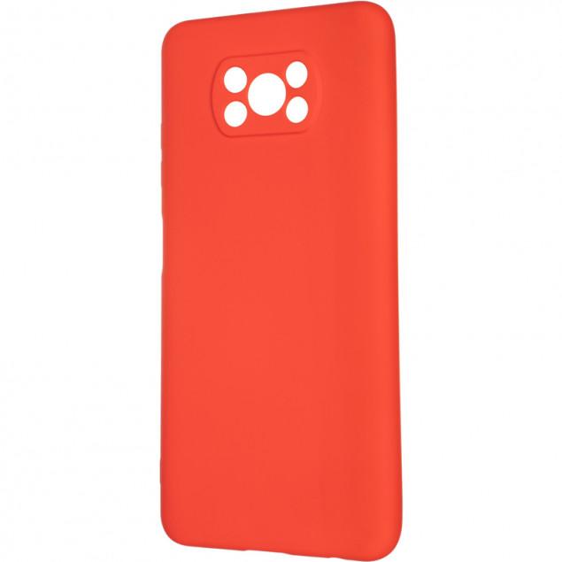 Full Soft Case for Xiaomi Poco X3 Red