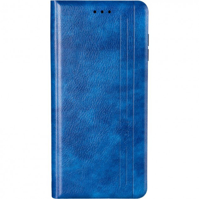 Book Cover Leather Gelius New for Samsung A125 (A12) Blue