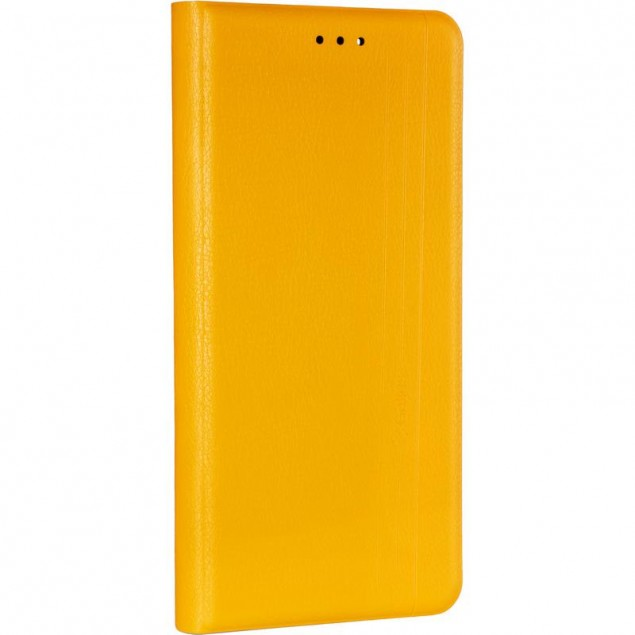 Book Cover Leather Gelius New for Samsung A125 (A12) Yellow