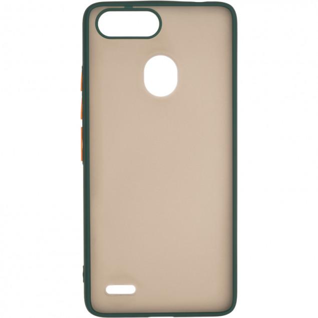 Gelius Bumper Mat Case for Tecno Pop 2F Green