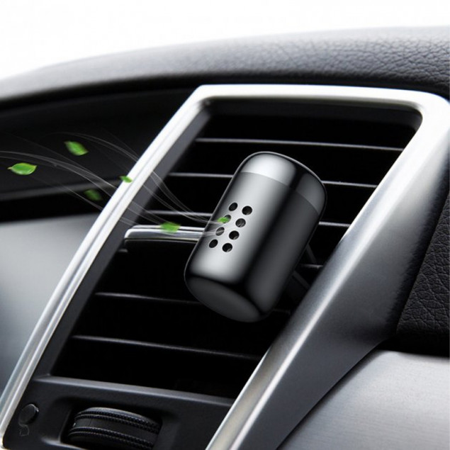 Baseus Little Fatty In-vehicle Fragrance (SUXUN-PDA01/SUXUN-PD01) Black (Автомобильный освежитель воздуха)