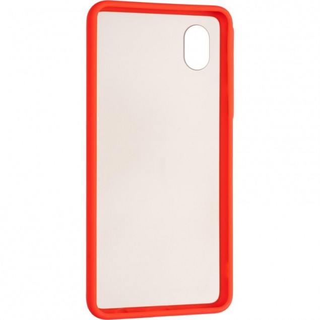 Gelius Bumper Mat Case for Samsung A013 (A01 Core) Red