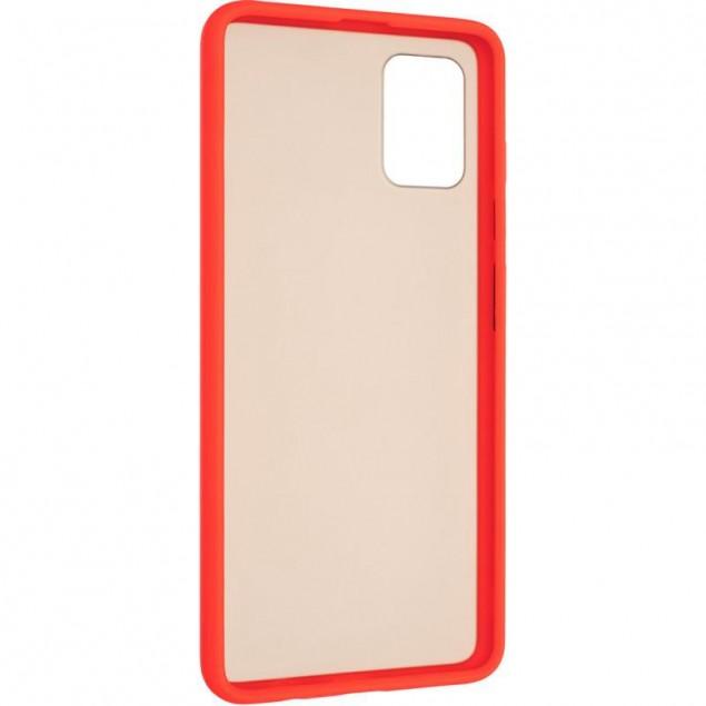 Gelius Bumper Mat Case for Samsung A515 (A51) Red
