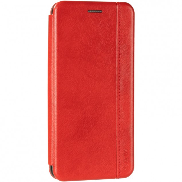 Book Cover Leather Gelius for Realme C3 Red