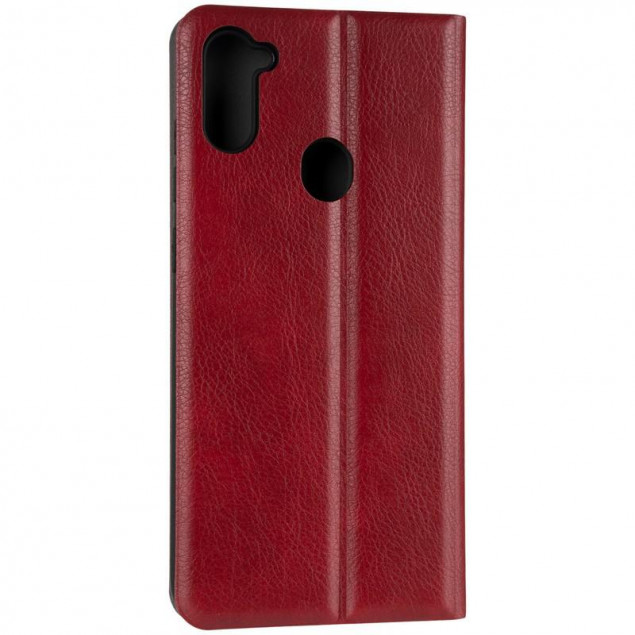 Book Cover Leather Gelius New for Samsung A115 (A11)/M115 (M11) Red