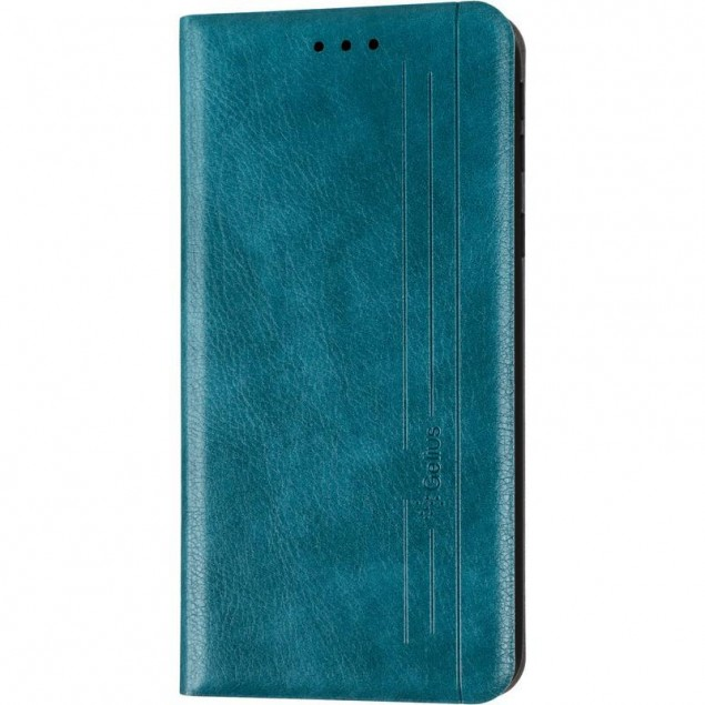 Book Cover Leather Gelius New for Samsung A013 (A01 Core) Green