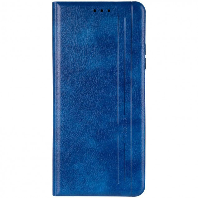 Book Cover Leather Gelius New for Xiaomi Mi 10t Blue
