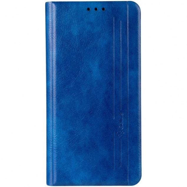 Book Cover Leather Gelius New for Huawei Y5P Blue
