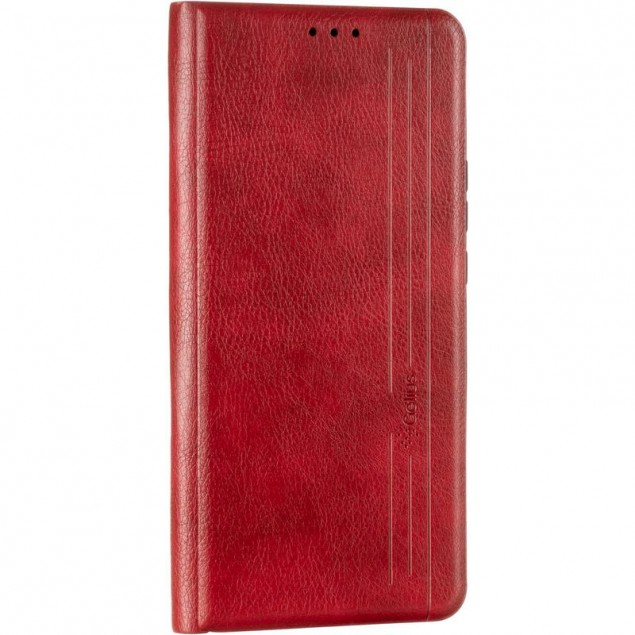 Book Cover Leather Gelius New for Huawei P Smart Z Red