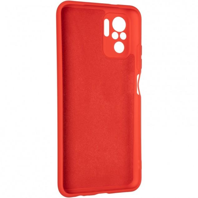 Full Soft Case for Xiaomi Redmi Note 10 Red