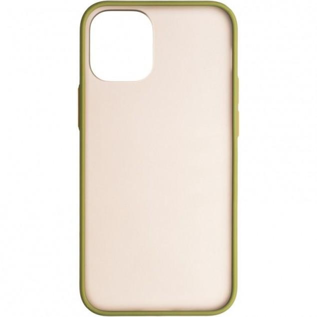 Gelius Bumper Mat Case for iPhone 12 Mini Green