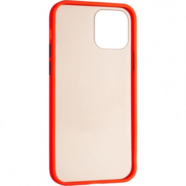 Gelius Bumper Mat Case for iPhone 12/12 Pro Red