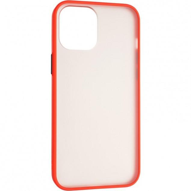 Gelius Bumper Mat Case for iPhone 12 Pro Max Red