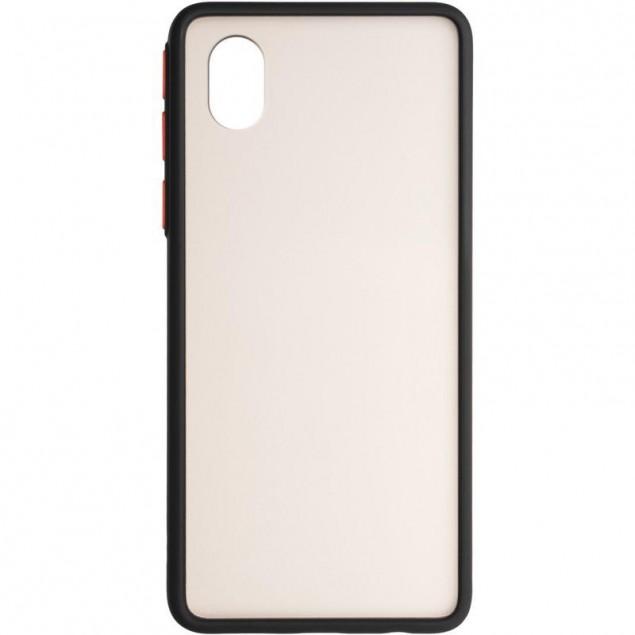 Gelius Bumper Mat Case for Samsung A013 (A01 Core) Black