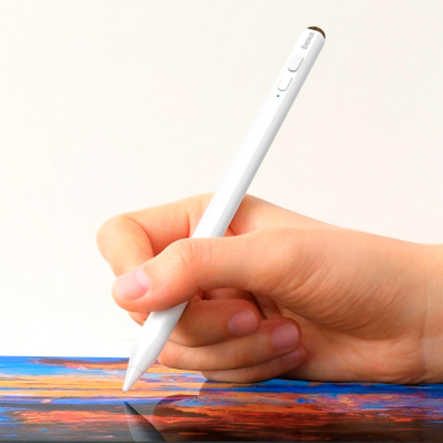 Baseus Smooth Writing Capacitive Stylus (Active version) White (Стилус)
