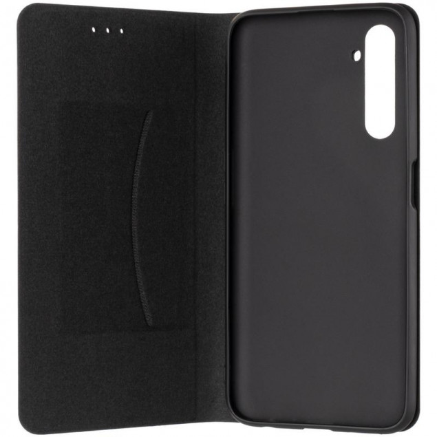 Book Cover Leather Gelius New for Realme 6 Pro Black