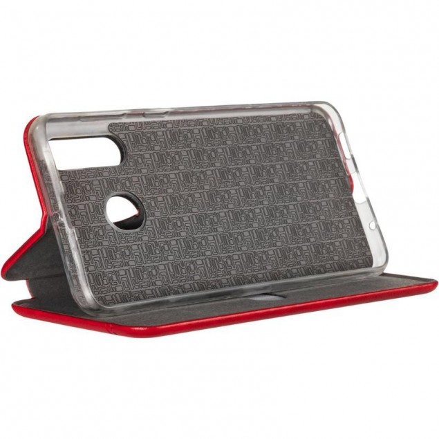 Book Cover Leather Gelius for Samsung M405 (M40) Red
