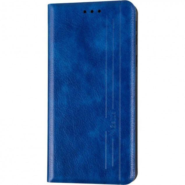 Book Cover Leather Gelius New for Samsung A013 (A01 Core) Blue