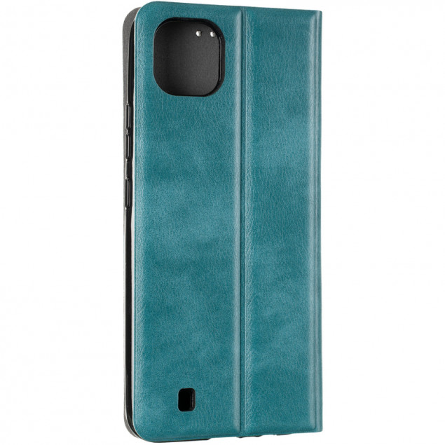 Book Cover Leather Gelius New for Realme C11 (2021) Green