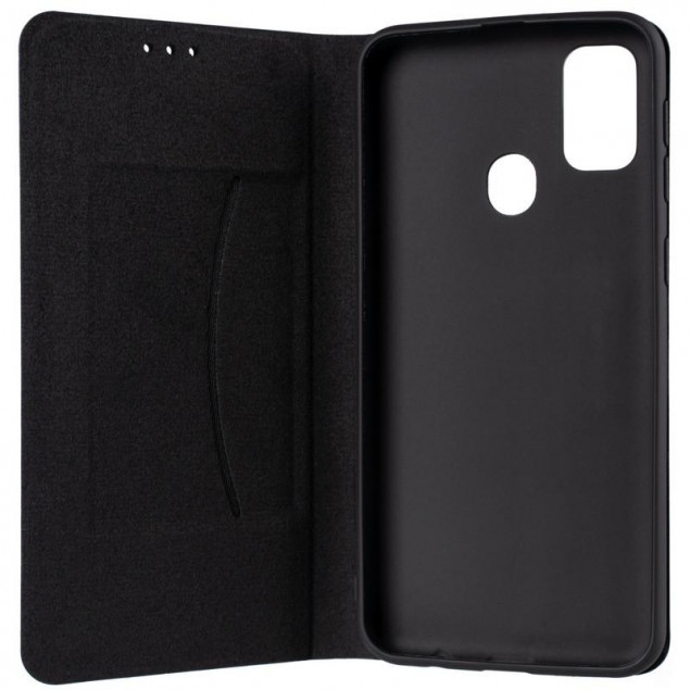 Book Cover Leather Gelius New for Samsung M215 (M21) Black