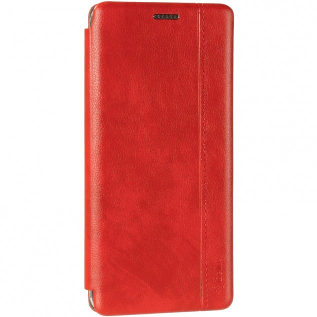 Book Cover Leather Gelius for Samsung A207 (A20s) Red