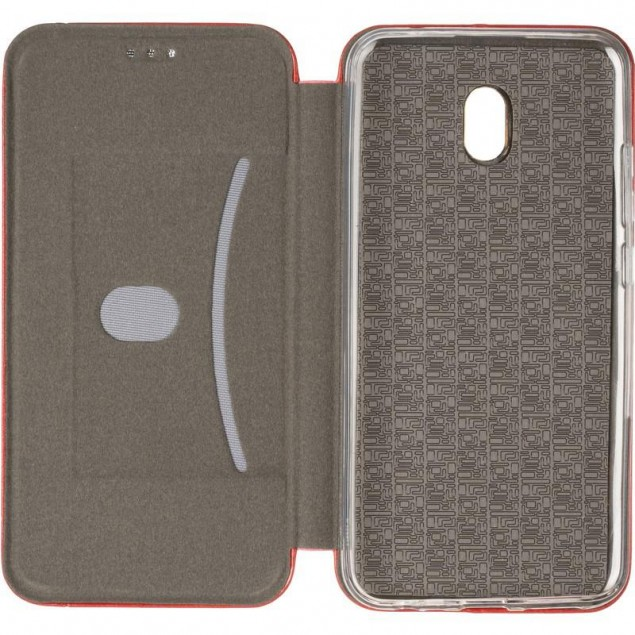 Book Cover Leather Gelius for Xiaomi Redmi 8a Red