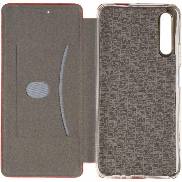 Book Cover Leather Gelius for Huawei P Smart Pro Red