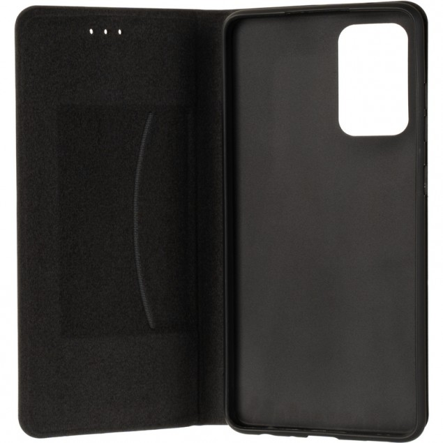 Book Cover Leather Gelius New for Samsung A725 (A72) Black