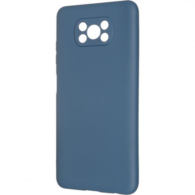 Full Soft Case for Xiaomi Poco X3 Dark Blue