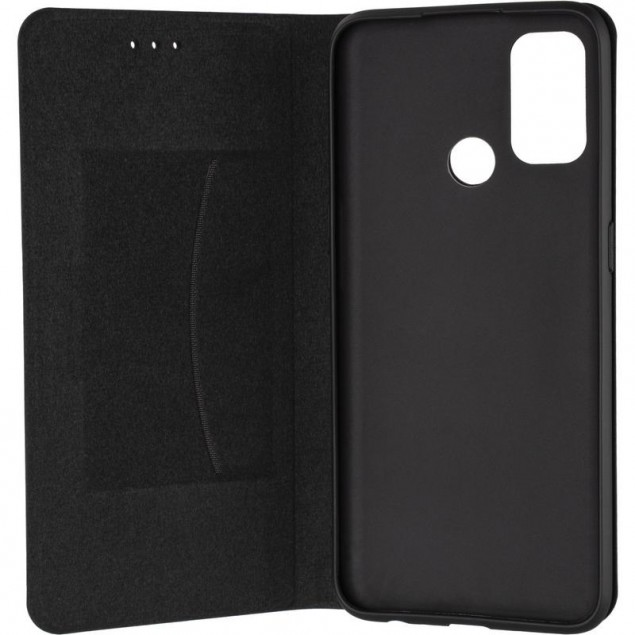 Book Cover Leather Gelius New for Oppo A32 Black