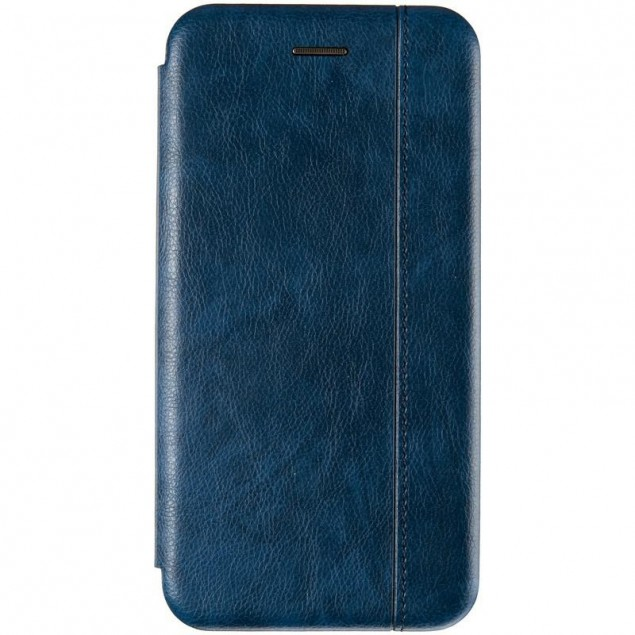 Book Cover Leather Gelius for iPhone X Blue