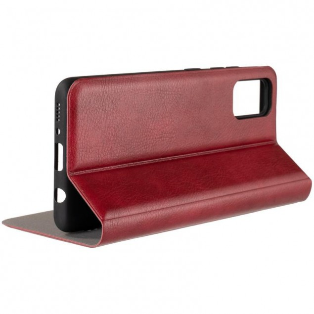 Book Cover Leather Gelius New for Samsung A415 (A41) Red