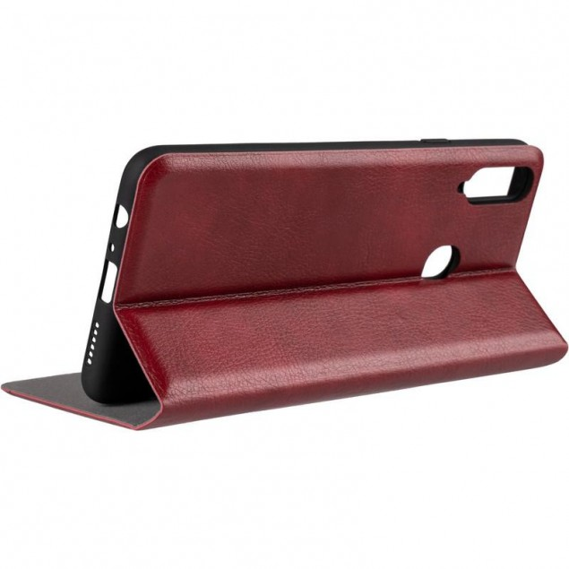 Book Cover Leather Gelius New for Samsung A207 (A20s) Red