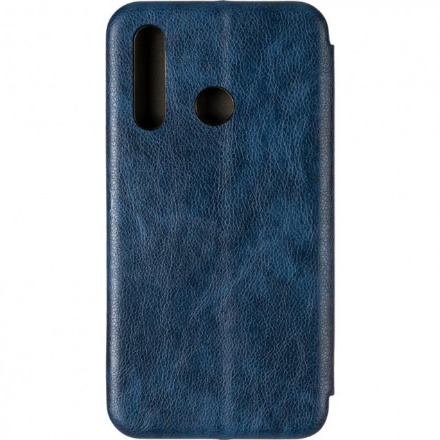 Book Cover Leather Gelius for Huawei Nova 4 Blue