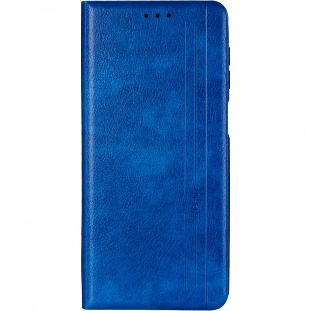 Book Cover Leather Gelius New for Samsung M515 (M51) Blue