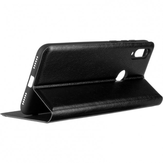 Book Cover Leather Gelius New for Huawei Y7 (2019) Black