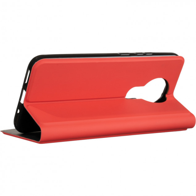 Book Cover Gelius Shell Case for Nokia 3.4 Red