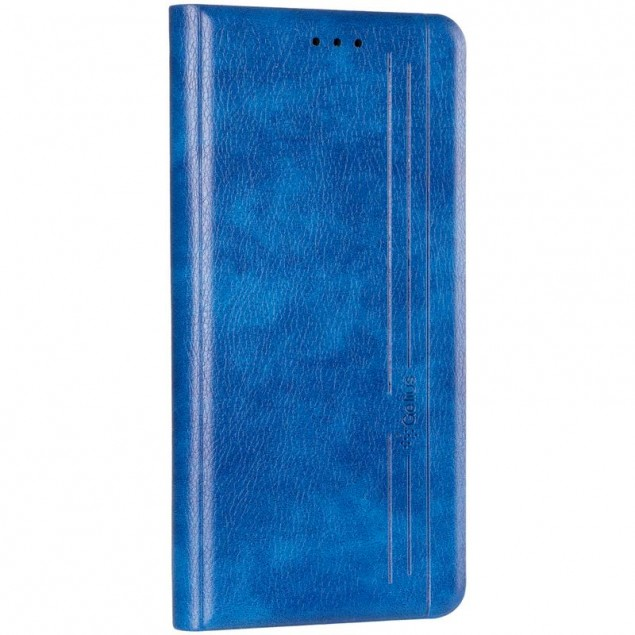 Book Cover Leather Gelius New for Realme 6 Pro Blue