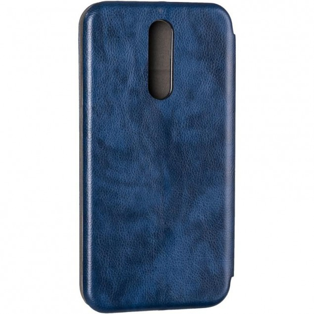 Book Cover Leather Gelius for Xiaomi Redmi 8 Blue