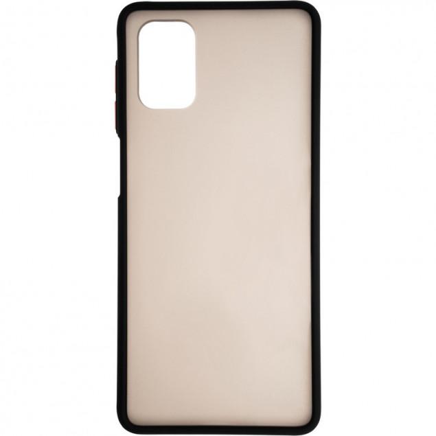 Gelius Bumper Mat Case New for Samsung A525 (A52) Black