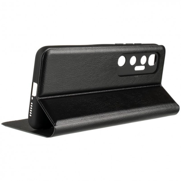 Book Cover Leather Gelius New for Xiaomi Mi 10 Ultra Black
