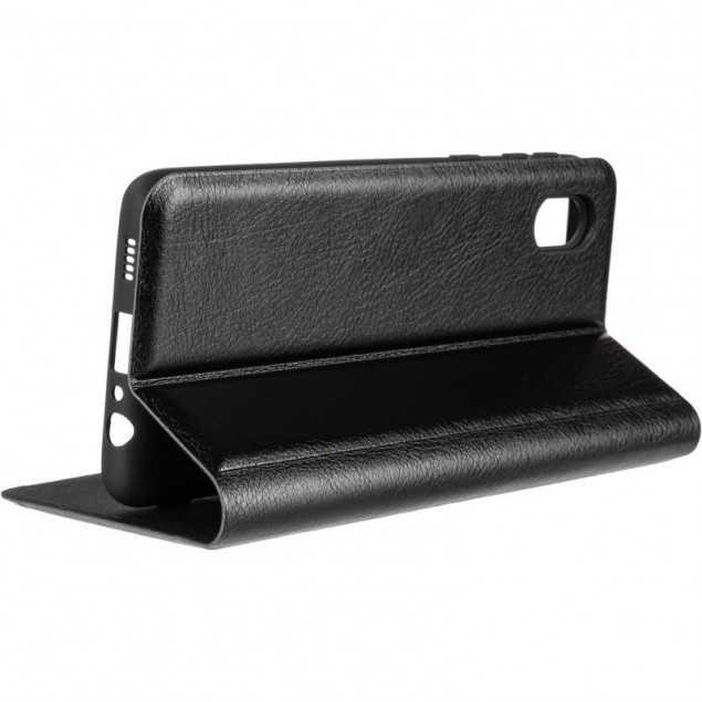 Book Cover Leather Gelius New for Samsung A013 (A01 Core) Black