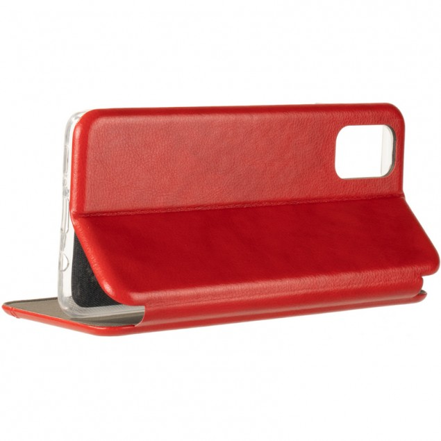 Book Cover Leather Gelius for Samsung M515 (M51) Red