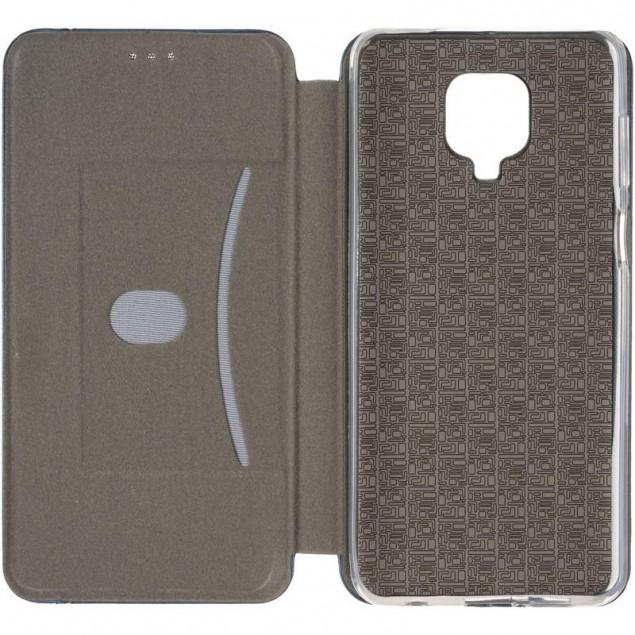 Book Cover Leather Gelius for Xiaomi Redmi Note 9s/9 Pro Max Blue