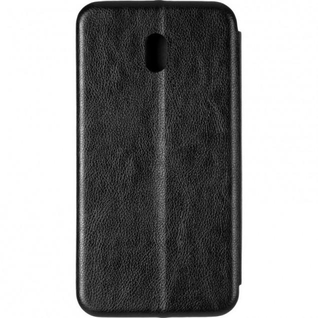 Book Cover Leather Gelius for Xiaomi Redmi 8a Black