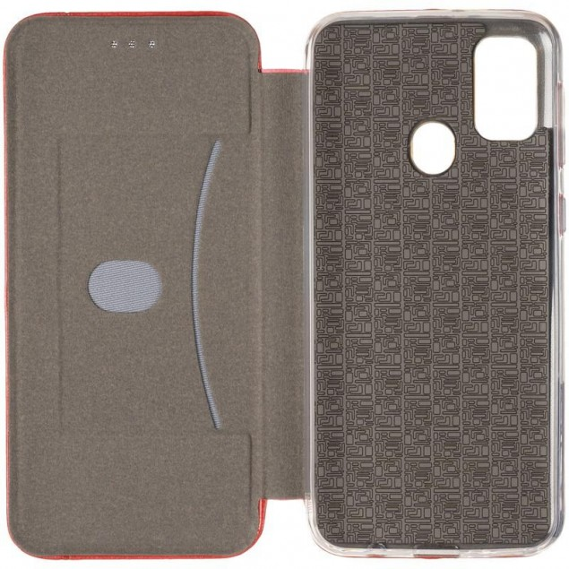 Book Cover Leather Gelius for Samsung M307 (M30s)/M215 (M21) Red