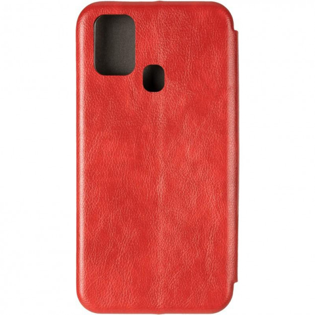 Book Cover Leather Gelius for Samsung M315 (M31) Red
