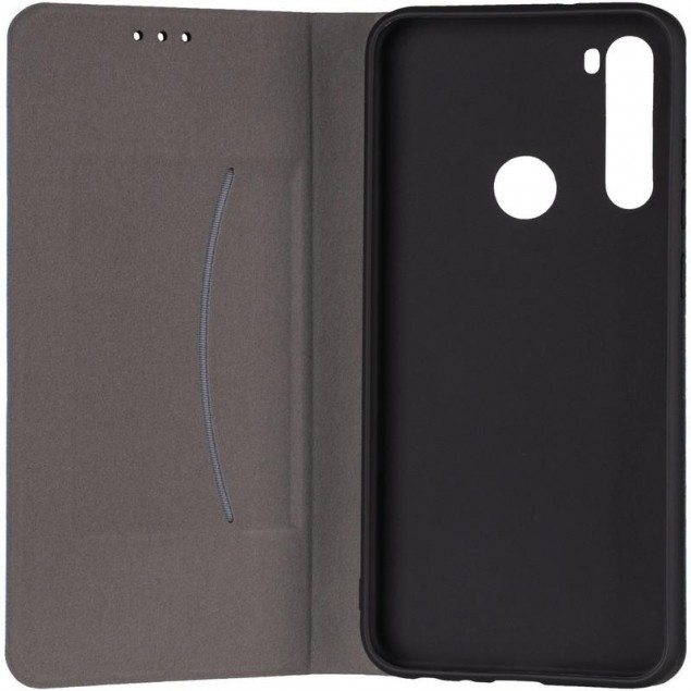 Book Cover Leather Gelius New for Xiaomi Redmi Note 8t Blue